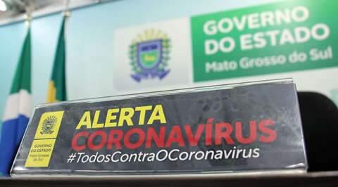 De 21 pacientes com coronavírus em MS, três estão na UTI de hospitais