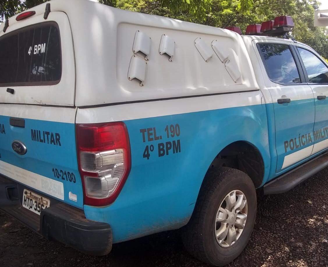 Equipes do 4ª Batalhão da Polícia Militar atenderam o caso (Foto: Divulgação)
