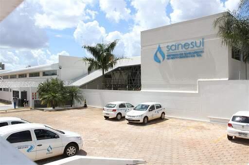 Sede da Sanesul, em Campo Grande (Foto: Divulgação - Sanesul)