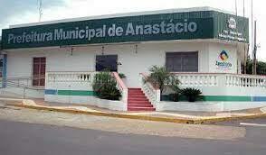 Fachada da Prefeitura de Anastácio. (Foto: Divulgação/Prefeitura)