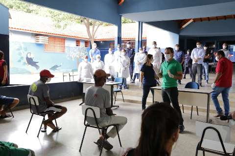 No primeiro dia, 113 moradores de rua foram levados para abrigos