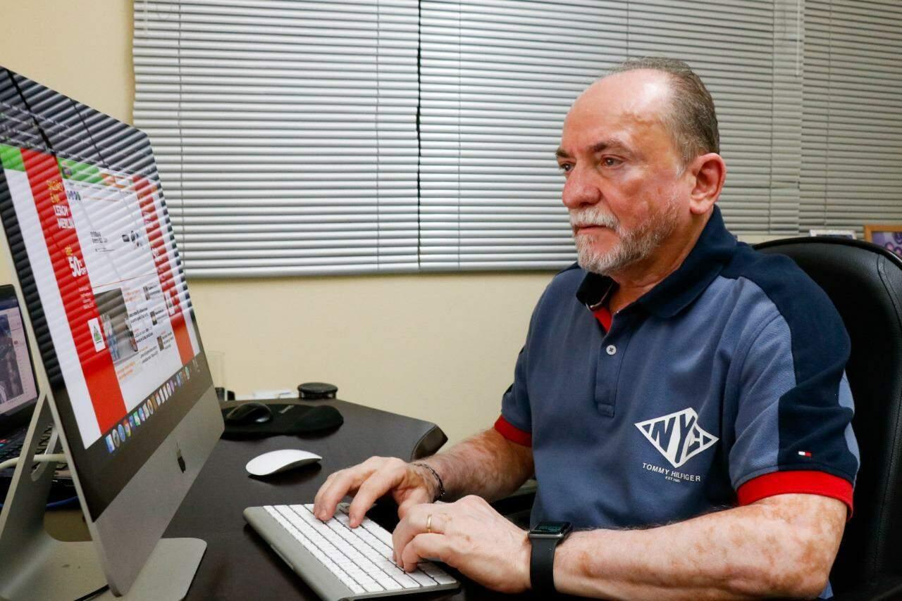 Lucimar Couto: diretor do Campo Grande News.