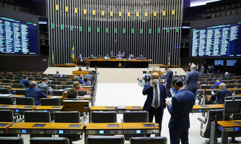 Sessão na Câmara dos Deputados. (Foto: Pablo Valadares/Camara dos Deputados)