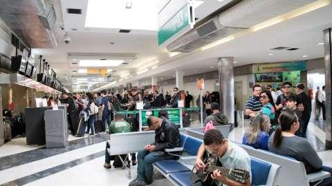 Aeroporto da Capital terá triagem e questionário feito aos passageiros