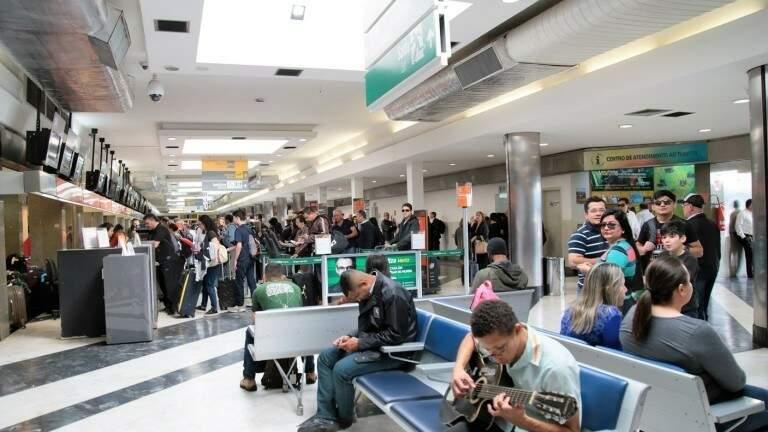Aeroporto Internacional de Campo Grande (Foto: Divulgação - PMCG)