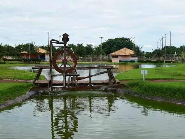 Parques de Terenos, um dos espaços que podem continuar funcionando. (Foto: Divulgação)
