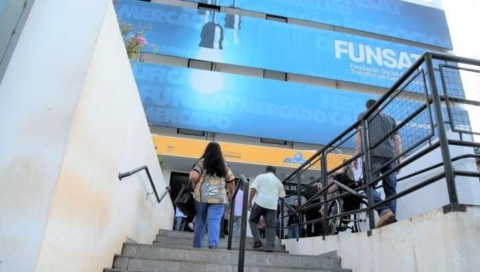 Prédio da Funsat, em Campo Grande (Foto: Divulgação - PMCG)