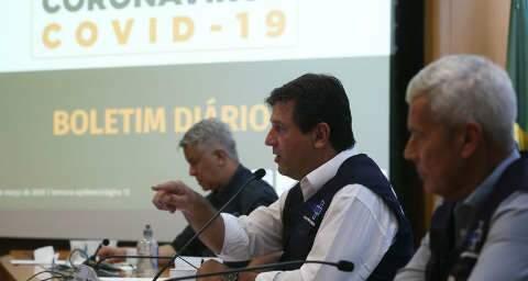 À imprensa nacional, Mandetta elogia leitura de Marquinhos sobre pandemia