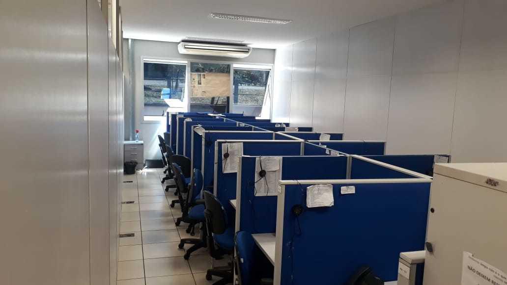 Sala adaptada na central de regulação da Prefeitura de Campo Grande (Foto: Divulgação/Sesau)