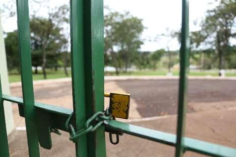 Coração verde da Capital, Parque das Nações é retrato de uma cidade isolada