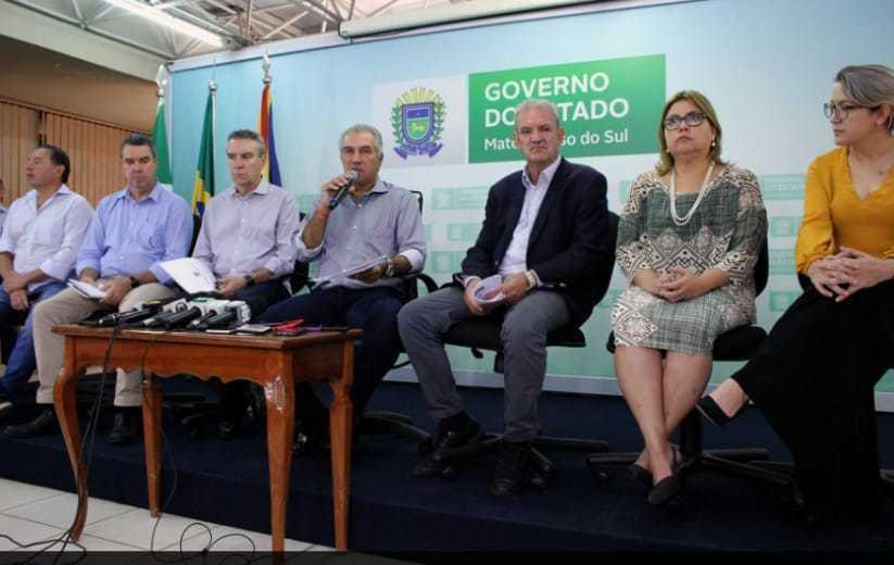 Comitê de enfrentamento ao coronavírus criado pelo Governo do Estado de MS (Foto: Divulgação)