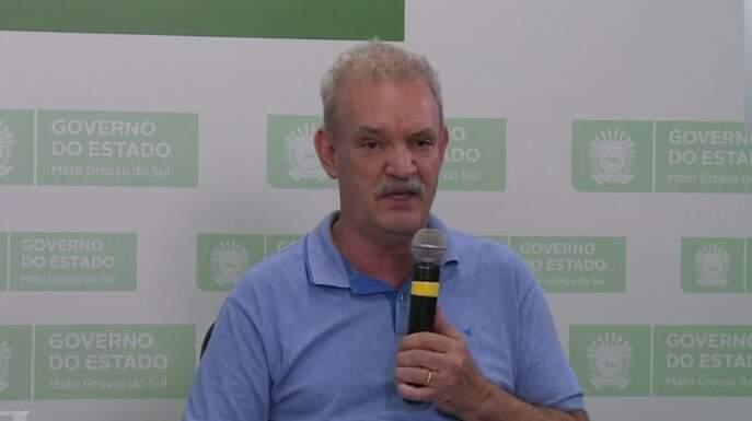 Secretário estadual de saúde, Geraldo Resende, afirma que há fila de espera de vários estados brasileiros, por resultados de exames enviados a São Paulo. (Foto: reprodução))