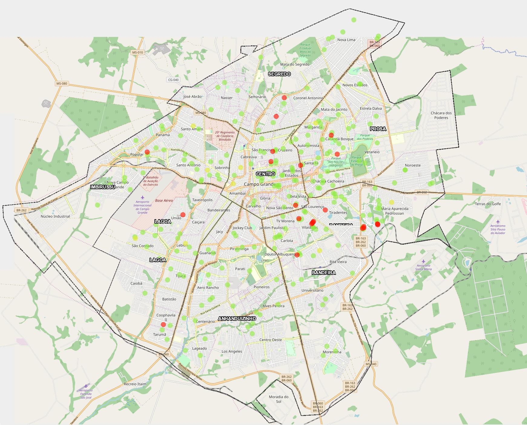 Sistema Municipal de Indicadores de Campo Grande traz dados do novo coronavírus. (Foto Reprodução)