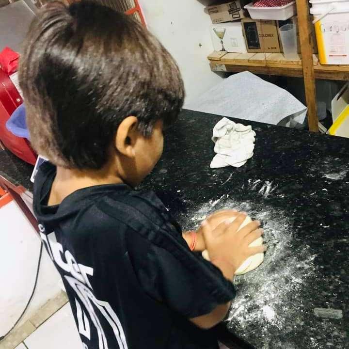 Quer pizza do que? Crianças ensinam de frango e morango com nutella