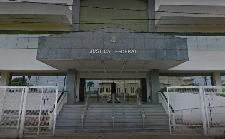 Prédio da Justiça Federal em Três Lagoas (Foto: Google Maps)