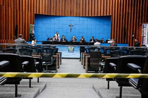 Trabalhos na Assembleia Legislativa devem voltar apenas em 17 de abril