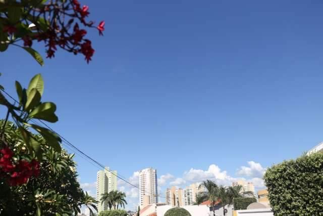 Meteorologia emite alerta para ocorrência de vendaval em Mato Grosso do Sul