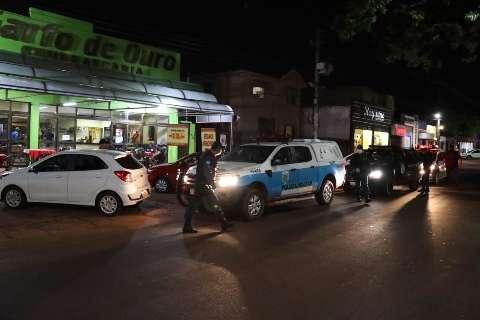 Policiais e guardas saem as ruas para garantir cumprimento de toque de recolher