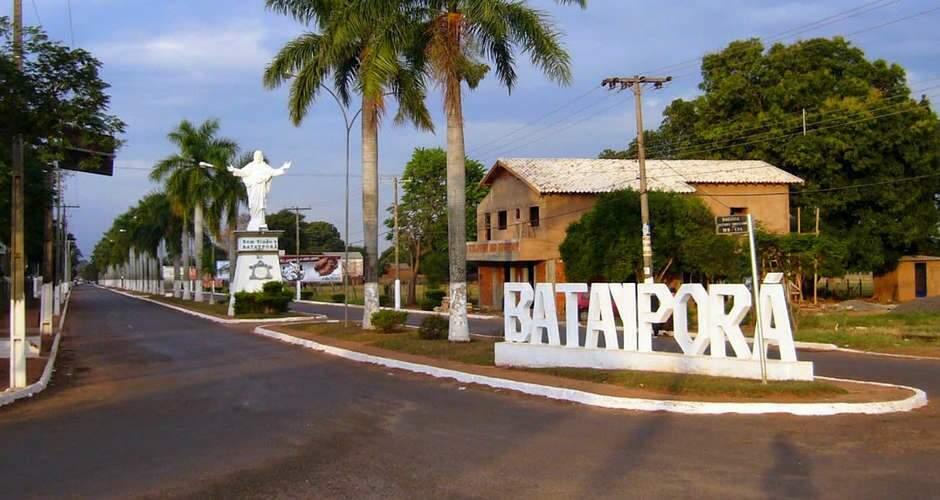 Entrada da cidade de Batayporã (Foto: Divulgação - Prefeitura de Batayporã)