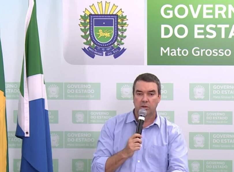 O secretário de Governo, Eduardo Ridel, fez anúncio na tarde desta quarta-feira (Foto: Reprodução/Facebook)