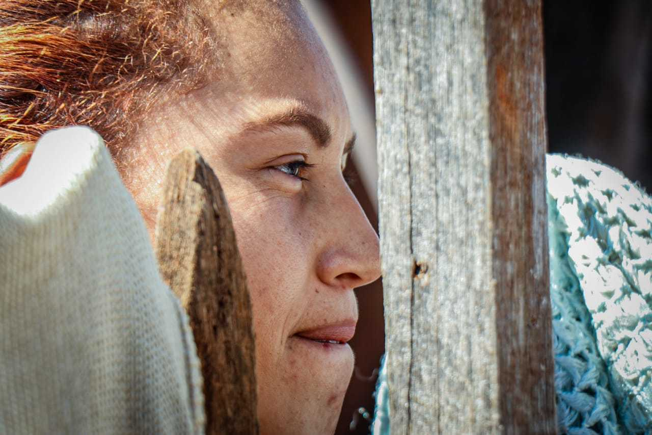 Babá, Lucia está sem trabalhar desde o início da quarentena. (Foto: Henrique Kawaminami)