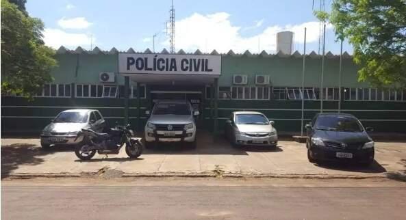 Delegacia de Eldorado onde o caso foi registrado. (Foto: Divulgação/PCMS)