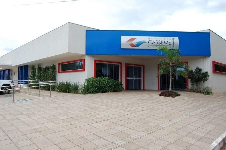 Hospital da Cassems de Nova Andradina. (Foto: Dourados Agora)