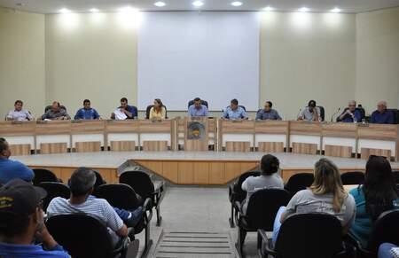 Sessão na Câmara Municipal de São Gabriel do Oeste (Foto: Divulgação - SGDO)