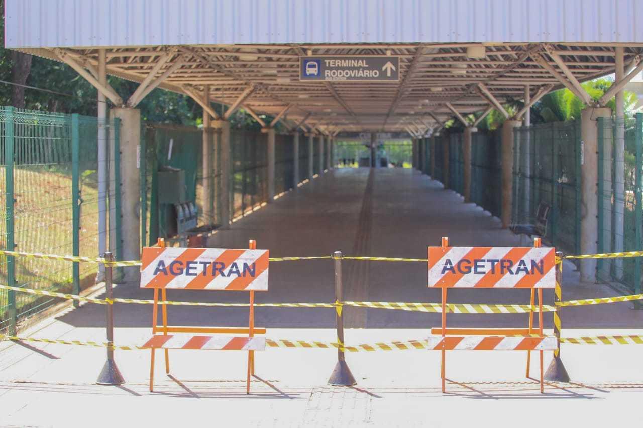 Rodoviária de Campo Grande está fechada desde o dia 24 de março (Foto/Arquivo: Marcos Maluf)