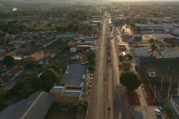 Água Clara, distante 198 quilômetros de Campo Grande, abriu concurso público para preencher diversos cargos. (Foto: Divulgação/Prefeitura)