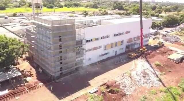 Hospital terá área de 6,3 mil m², além de 18 mil m² de urbanismo e infraestrutura completa (Foto: Divulgação)
