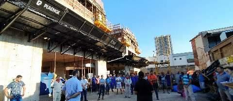 Sem demitir, construção retoma obras na Capital, mas prevendo dias dificeis