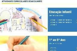 Rede Municipal de Educação disponibiliza atividades online