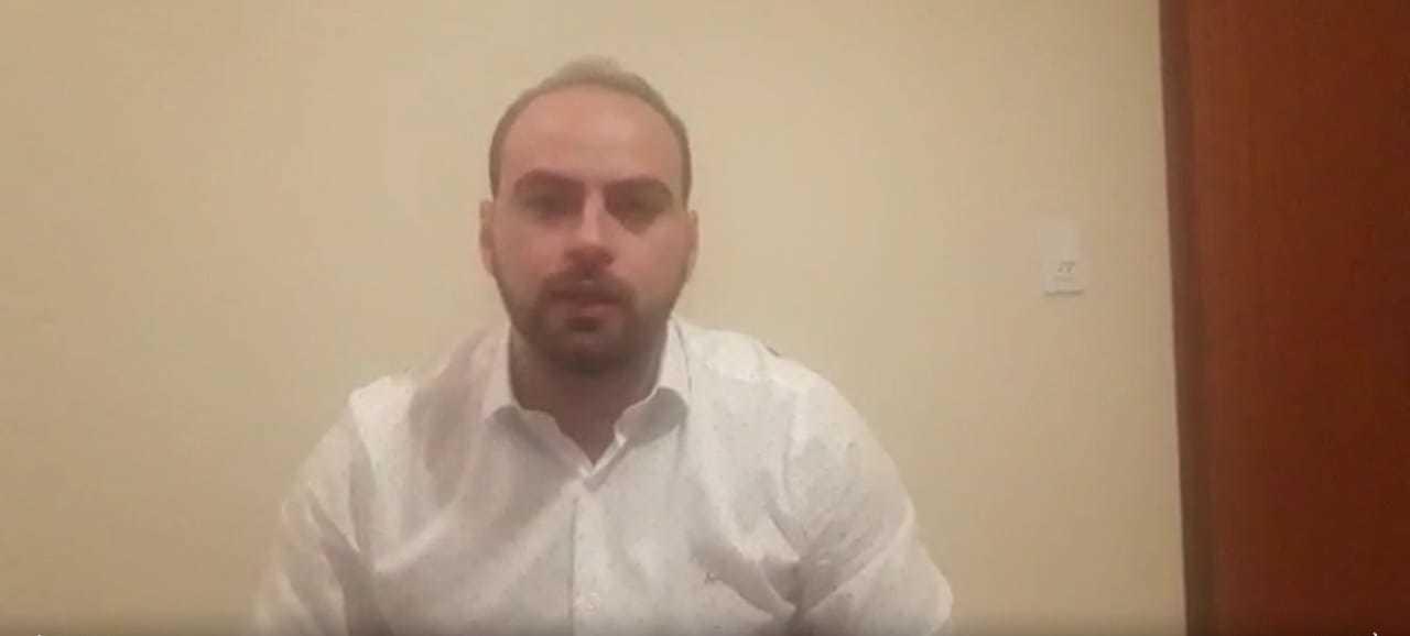 Médico Murilo Duarte publicou vídeo denunciando falta de procedimento contra o coronavírus (Foto: Reprodução)
