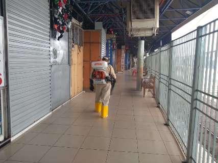 Aguardando liberação, Camelódromo adota medidas de higiene