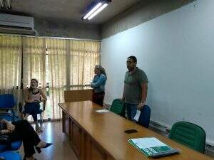 Reunião entre representantes da SAD e dirigentes das unidades do Fácil (Foto: Divulgação)