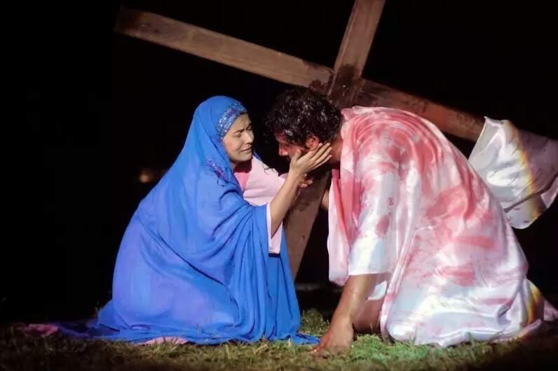 Encenação da Paixão de Cristo é um dos momento mais esperado por fiéis (Foto: Arquivo/CGNews)