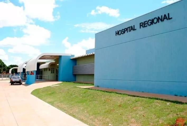 Hospital Regional de Nova Andradina (Foto: Thiago Odeque)