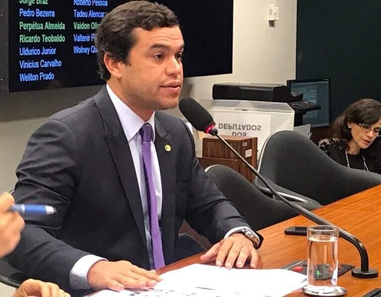 Deputado Beto Pereira (PSDB), na Câmara dos Deputados (Foto: Divulgação)