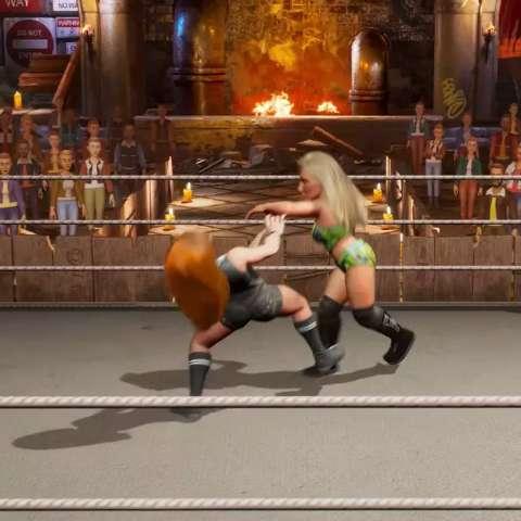 WWE 2K Battlegrounds quer trazer de volta a diversão da luta-livre