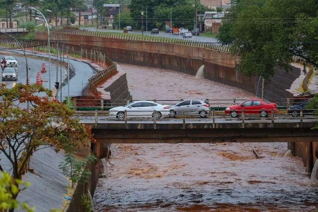 Capital acumula 54 mm em maio e Inmet prevê mais chuva até sexta