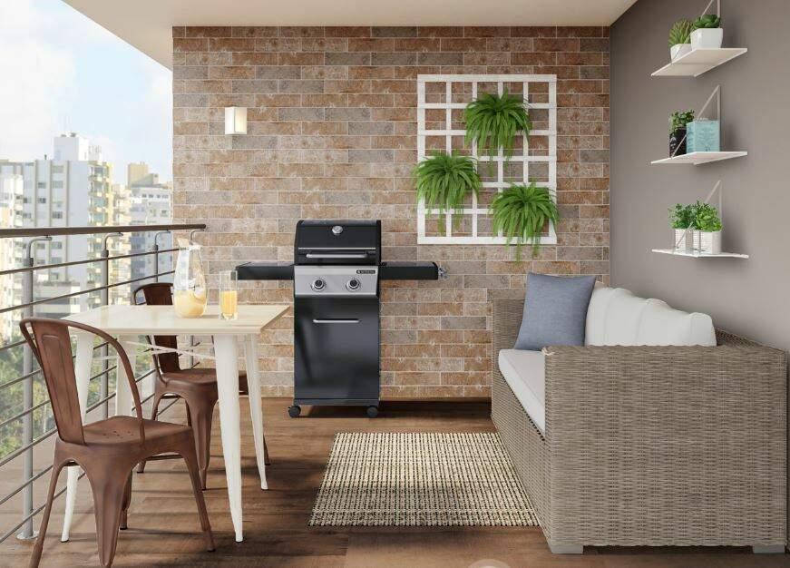 Além de muitos de produtos, no site da Leroy Merlin você ainda pode se inspirar com diversos ambientes decorados. . (Foto: Reprodução site)