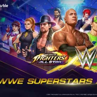 Em crossover inusitado, The King of Fighters se encontra com a WWE