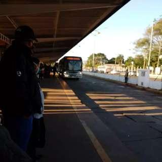 Poucos ônibus e linhas com horários limitados deixam passageiros para trás