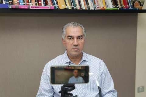 Reinaldo participa da reunião com Bolsonaro na quinta