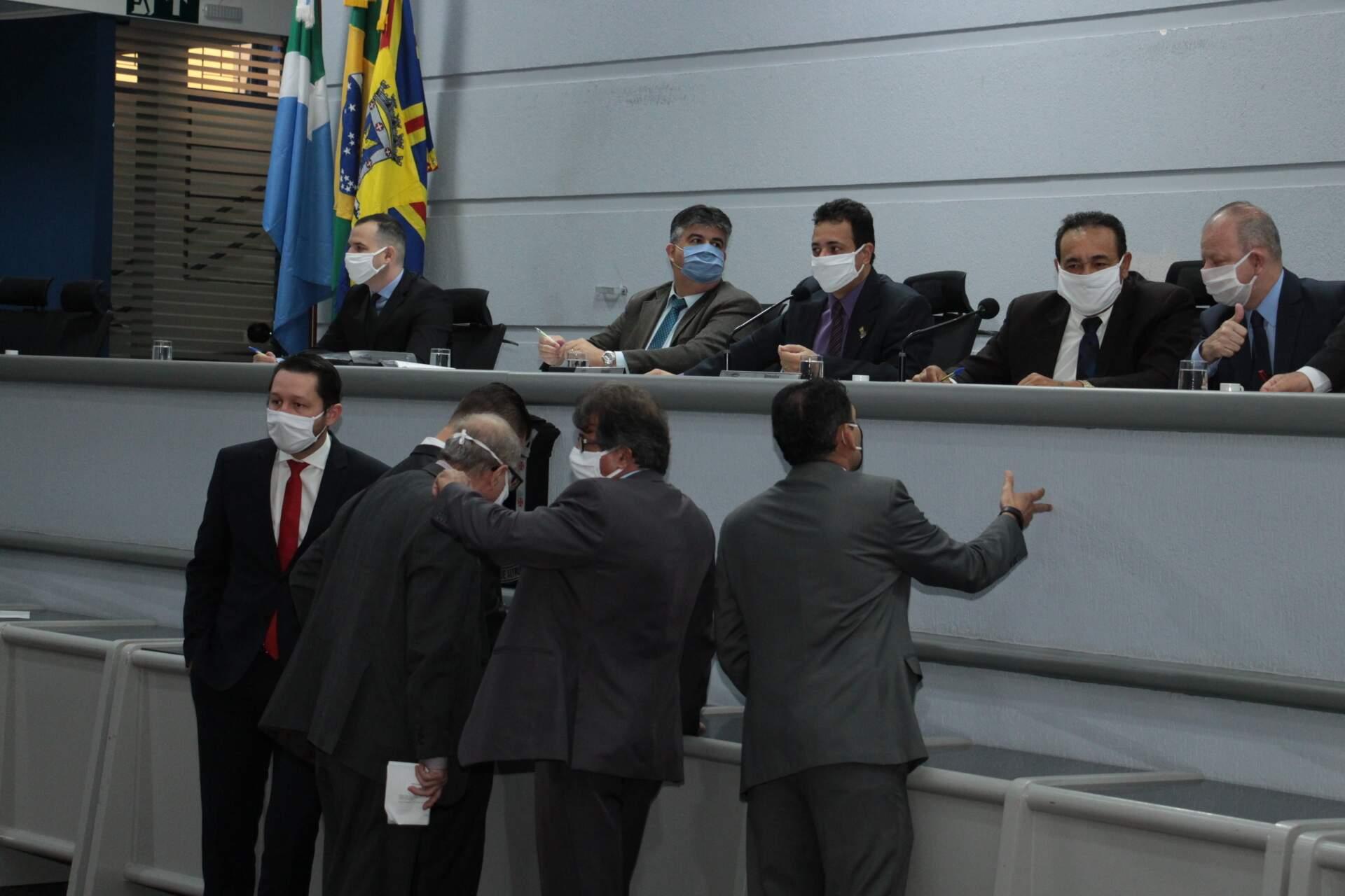 Balanço de emendas foi apresentado nesta terça-feira, durante sessão ordinária (Foto: Izaías Medeiros/CMCG)