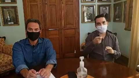 Marquinhos diz que uso de cloroquina em casos leves dependerá do médico