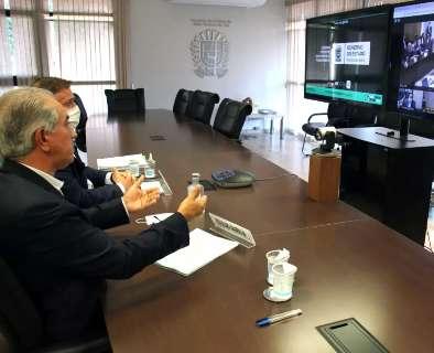 Em nome de governadores, Reinaldo pede veto a Bolsonaro e apoio ainda em maio