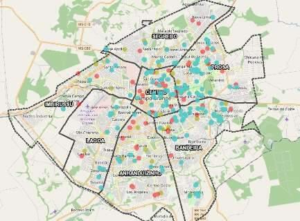 Vírus avança em bairros pobres e populosos da Capital que informa 28 casos novos