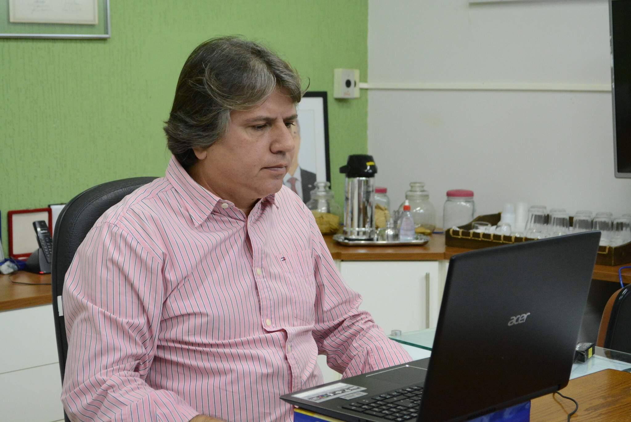 Presidente da Assomasul Pedro Caravina diz que ajuda alivia em parte a situação (Divulgação)